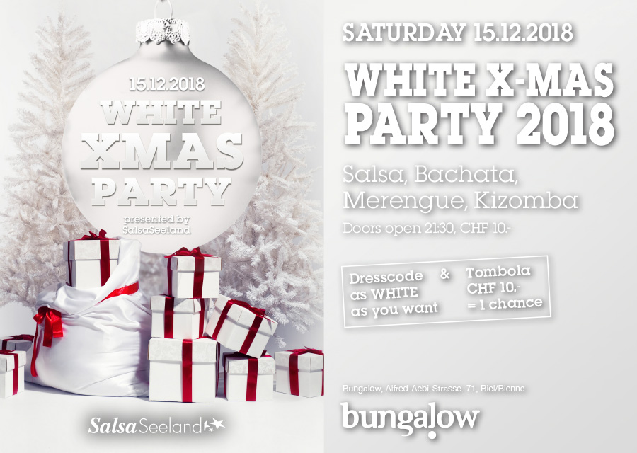 WHITE X-MAS PARTY